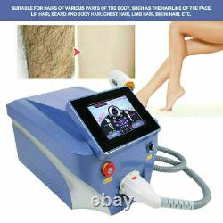 1064/755/808nm Diode Laser Permanent Body Facial Hair Removal Epilator Device