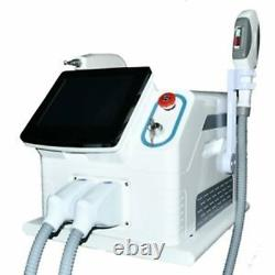 2 In 1 ND Yag Laser Tattoo Removal SHR IPL OPT Hair Removal Machine Salon Spa