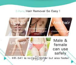 300000 Flashes IPL Painless Laser Hair Removal Permanent 5 Levels Fast Safety