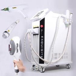 3IN 1 Elight IPL Laser Hair Removal Yag Laser Tattoo Removal RF Wrinkles Removal
