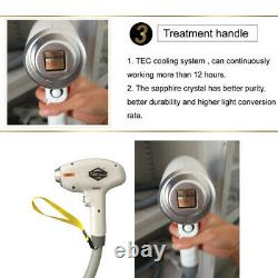 808nm Diode Laser Hair Removal Machine Triple wavelengths Laser Hair Removal