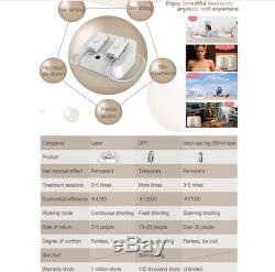 808nm Diode Laser Permanent Hair Removal Dual Handles 2 million Shots Machine