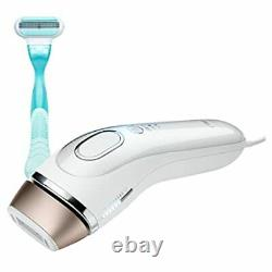 Braun IPL 5001 Intense Pulsed Light Face & Body Hair Removal System with Razor