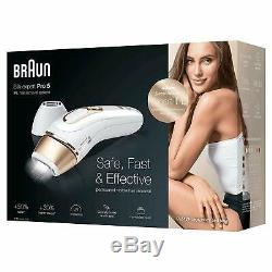 Braun IPL Silkexpert Pro 5 PL5124 Permanent Hair Removal Device for Body & Face