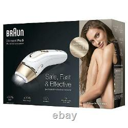 Braun Silk-Expert Pro 5 PL5014 Permanent Laser Hair Removal IPL for Body & Face