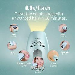 DEESS ICY Cool Laser IPL Hair Removal System GP590 Women & Men Unlimited Flashes
