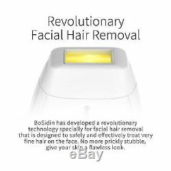 Face & Body Permanent Hair Removal Device for Women & Men White