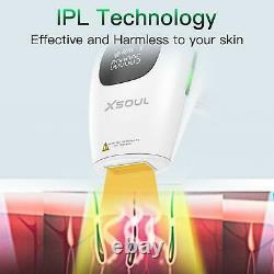 Hair Removal Permanent & Professional IPL Laser Device Painless Full Body & Face