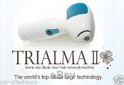 Hair Removal System Laser Trialma IPL Permanent Beauty Home Use Diode box