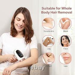 IPL Hair Removal System Laser Hair Remover 500000 Flashes Permanent
