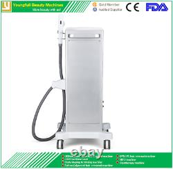 Laser IPL permanent hair removal machine painless fast treatment diode SHR OPT