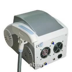 Laser Tattoo and Hair Removal Carbon Peel Skin Care Machine Switched