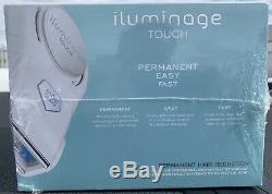 NEW Iluminage Beauty Touch Elos Hair Removal System 120,000 Pulses Brand New NIB