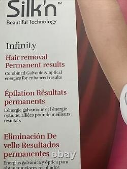 New Silk'n Infinity Permanent Hair Removal System