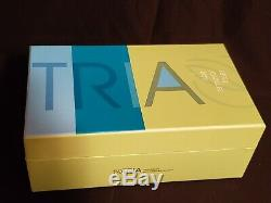 New TRIA Beauty Hair Removal Laser Device White/Green Opened Box