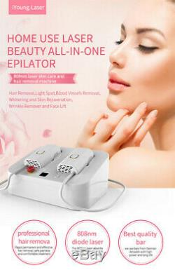 Permanent Hair Removal 808nm Diode Laser Dual Handles 1 million Shots Machine