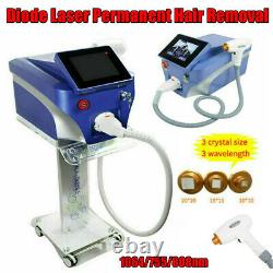 Permanent Laser 1064/755/808nm Diode Body Facial Hair Removal Beauty Machine SPA