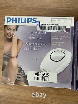 Philips SC1981/50 Lumea Comfort IPL Face And Body Hair Removal System White