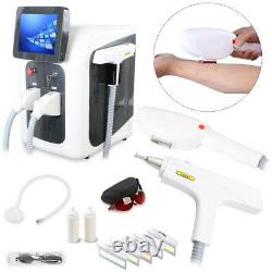 Pro 3in1 YAG Laser Tattoo Removal SHR OPT Elight IPL Permanent RF Hair Removal