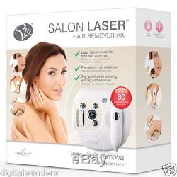 Rio 60x Scanning Laser Hair Removal Salon Remover Legs Face Arms Brand New