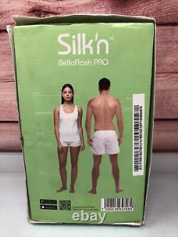 Silk'n BellaFlash Pro Touch & Glide HPL Technology Hair Removal Device open box