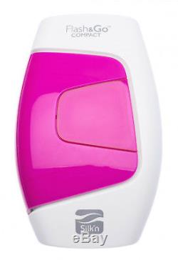 Silkn Flash&Go Compact At Home Permanent Hair Removal Device HPL Technology