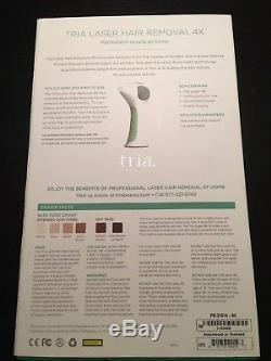 TRIA BEAUTY Hair Removal Laser 4X, RARE color BLUSH PINK Complete NEW OPEN BOX