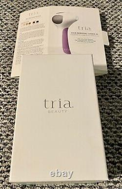 Tria Beauty 4X Hair Removal Laser for Women. Barely Used. All In Original Boxes