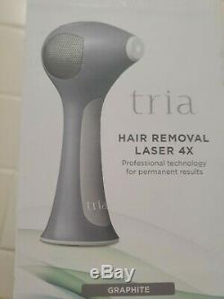 Tria Beauty Hair Removal Laser 4X White /Gray New
