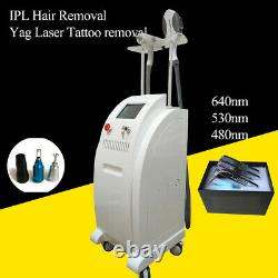 Yag laser tattoo removal IPL hair removal Machine Professional Beauty Use